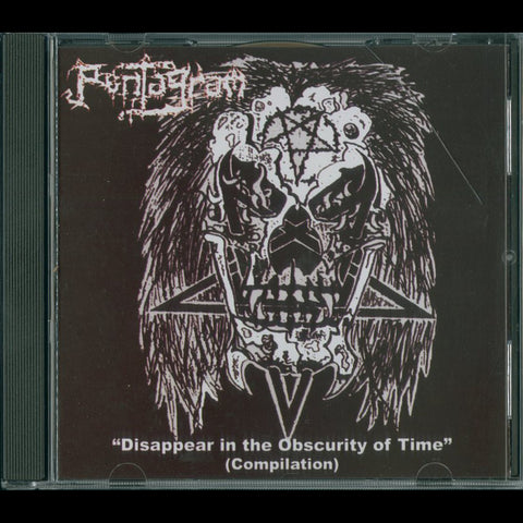 "Pentagram (Mexico) ""Disappear In The Obscurity"" CD (Pre-Shub Niggurath)"