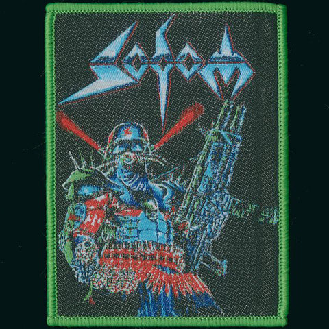 "Sodom ""Gasmask Commando"" Patch"