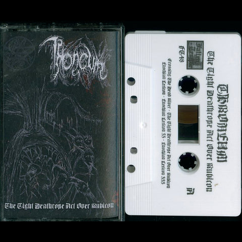 "Throneum ""The Tight Deathrope Act Over Rubicon"" MC"