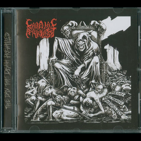 "Cardiac Arrest ""The Day That Death Prevailed"" CD"