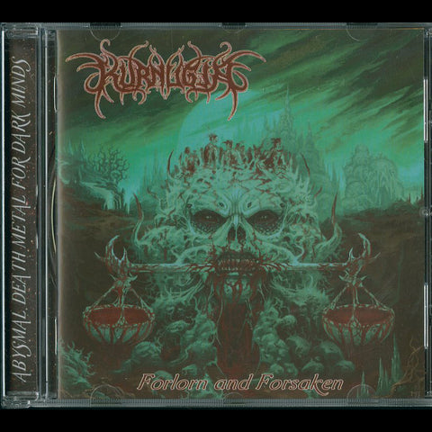 "Kurnugia ""Forlorn And Forsaken"" CD"