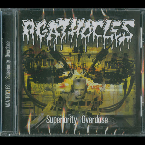 "Agathocles ""Superiority Overdose"" CD"