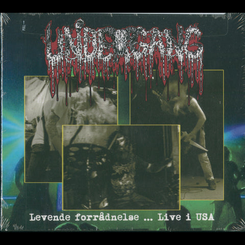 "Undergang ""Levende forrådnelse ... Live i USA"" Digipak CD"