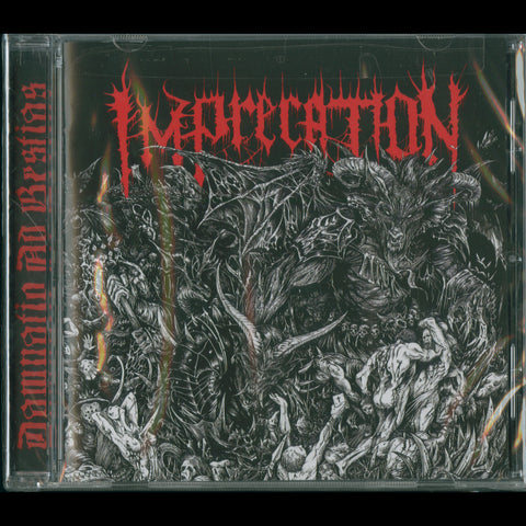 "Imprecation ""Damnatio Ad Bestias"" CD"