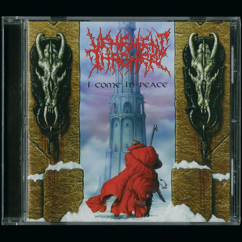 "Vehement Thrower ""I Come in Peace + Worm"" CD"