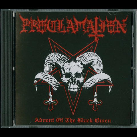 "Proclamation ""Advent of the Black Omen"" CD"