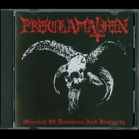 "Proclamation ""Messiah of Darkness and Impurity"" CD"