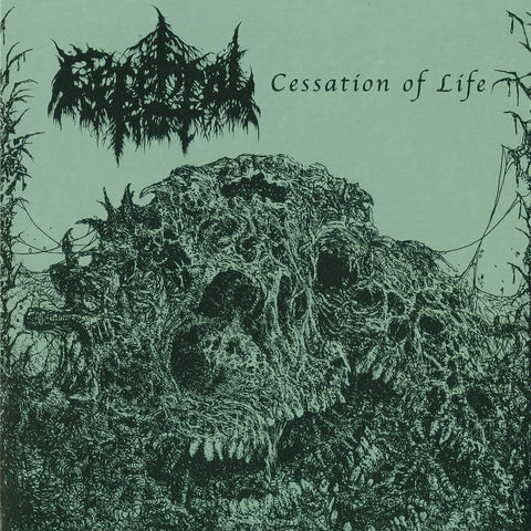 "Cerebral Rot ""Cessation of Life"" 7"""