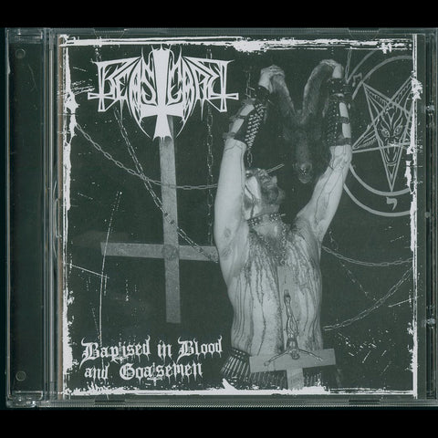 "Beastcraft ""From Baptised in Blood and Goatsemen"" CD"