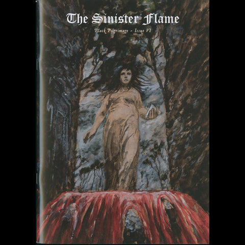 "The Sinister Flame ""Black Pilgrimage"" Issue VI Zine"