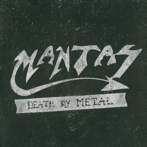 "Mantas ""Death by Metal"" LP (Pre-Death)"
