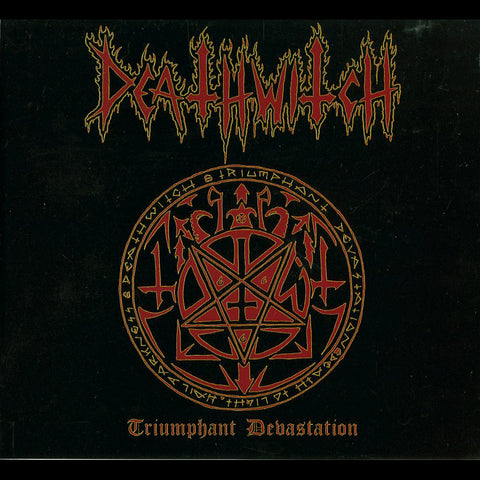 "Deathwitch ""Triumphant Devastation"" Digipak CD"