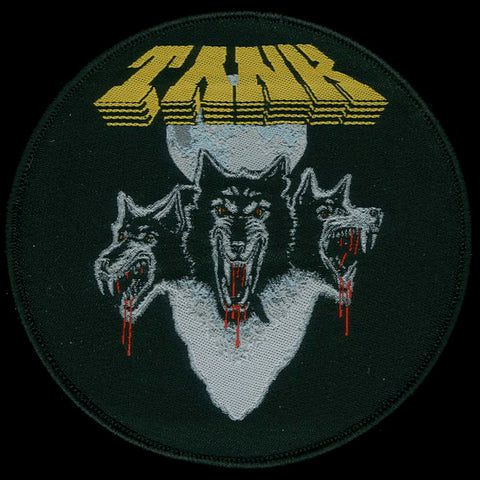 "Tank ""Filth Hounds of Hades"" Circular Patch"