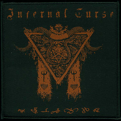 "Infernal Curse ""Triangle Goat Horns"" Patch"