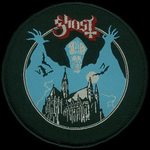 "Ghost ""Scooby Doo Castle"" Patch"