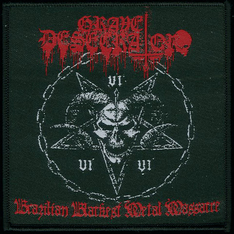 "Grave Desecrator ""Brazilian Blackest Metal Massacre"" Patch"