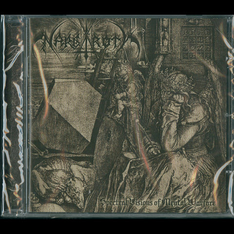 "Nargaroth ""Spectral Visions of Mental Warfare"" CD"