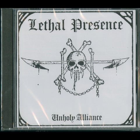"Lethal Presence ""Unholy Alliance"" CD"