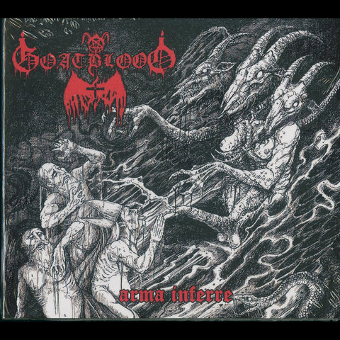 "Goatblood ""Arma Inferre"" Digipak CD"