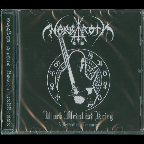 "Nargaroth ""Black Metal ist Krieg - A Dedication Monument"" CD"