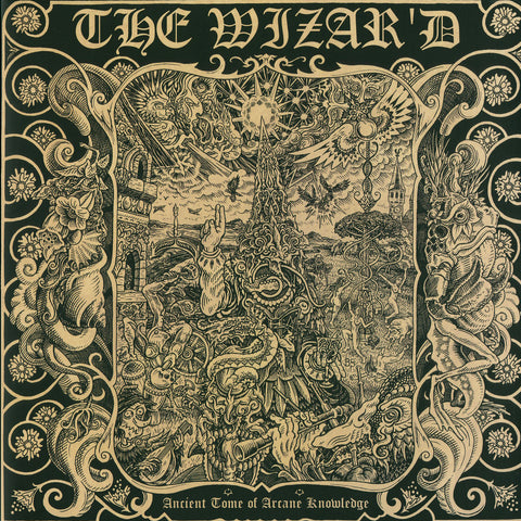 "THE WIZAR'D ""Ancient Tome Of Arcane Knowledge"" LP"