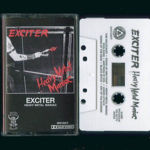 "Exciter ""Heavy Metal Maniac"" MC"