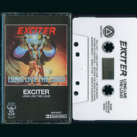 "Exciter ""Long Live The Loud"" MC"