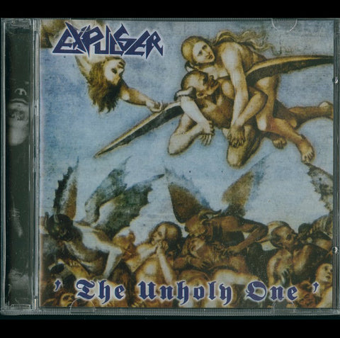 "EXPULSER ""The Unholy One / Fornications"" CD"