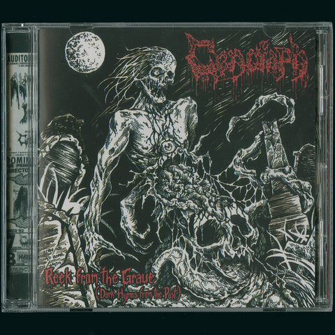 "Cenotaph / Damned Cross ""Reek from the Grave"" Split CD"
