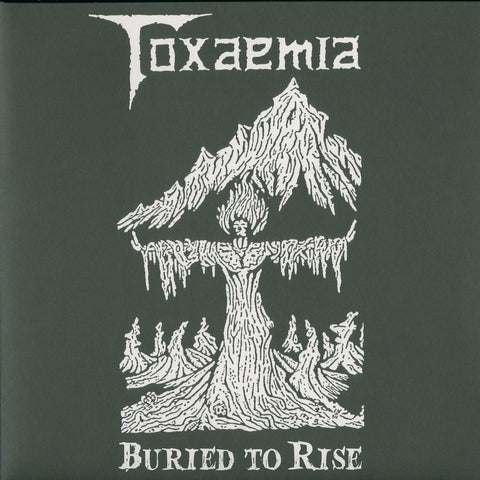 "Toxaemia ""Buried to Rise"" White Vinyl Double LP"