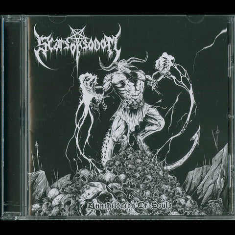 "Scars of Sodom ""Annihilation of Souls"" CD"