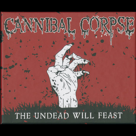 "CANNIBAL CORPSE ""THE UNDEAD WILL FEAST"" 8 x MC Boxset"