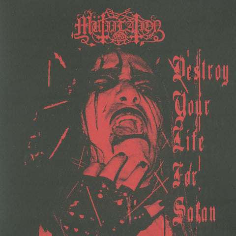 "MÜTİİLATİON ""Destroy Your Life for Satan"" 10"""