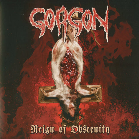 "Gorgon ""Reign of Obscenity"" LP"