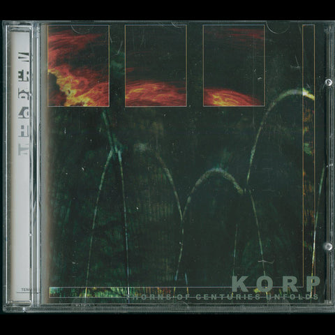 "Korp ""Thorns of Centuries Unfold"" CD"
