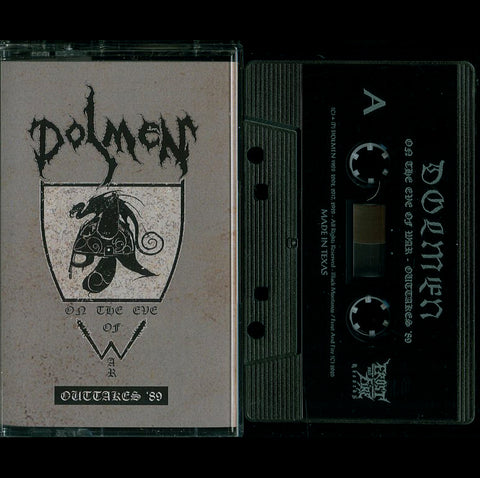 "Dolmen ""On The Eve of War - Outtakes '89"" MC"