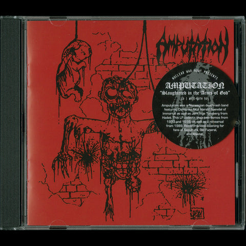"Amputation ""Slaughtered in the Arms of God"" CD"