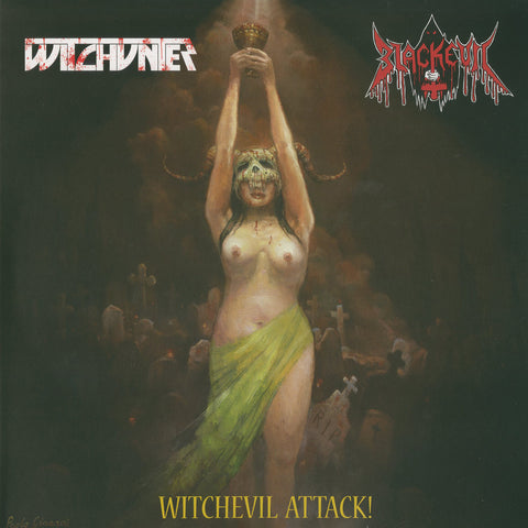 "Witchunter / Blackevil ""Witchevil Attack!"" Split LP"