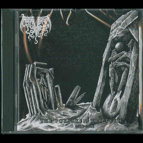 "Cadaveric Fumes ""The Forsaken Triptych 2012-2016"" CD"