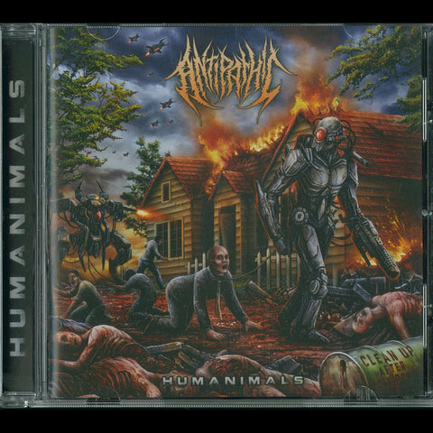 "ANTIPATHIC ""Humanimals"" CD"