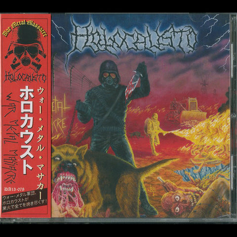 "Holocausto ""War Metal Masacre"" CD (Japanese Edition)"