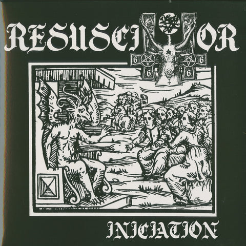 "Resuscitator ""Iniciation"" Black Vinyl LP"