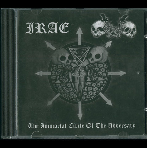 "Irae / Black Command ""The Immortal Circle of the Adversary"" Split CD"