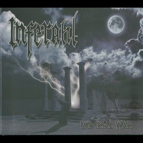 "Inferahl ""Imperial War"" Digipak CD (Greek Atmospheric BM)"