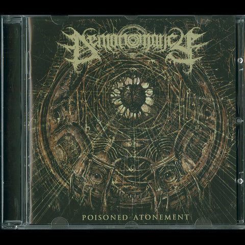 "Demonomancy ""Poisoned Atonement"" CD"