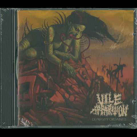 "Vile Apparition ""Depravity Ordained"" CD"