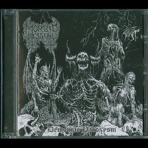 "Morbid Messiah ""Demoniac Paroxysm"" CD"