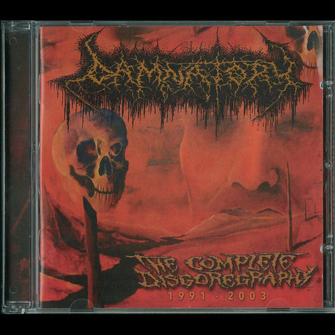 "Damnatory ""The Complete Disgoregraphy 1991-2003"" CD"