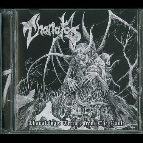 "Thanatos ""Thanatology: Terror from the Vault"" Double CD"