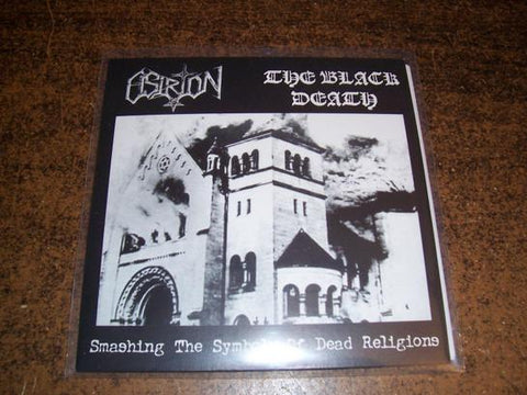 Osiron / The Black Death Split 7""